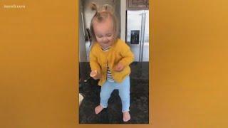 Toddler goes viral dancing to Beyoncé