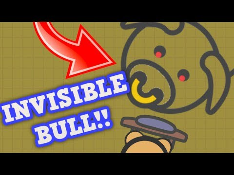 MOOMOO.IO INVISIBLE BLACK BULL GLITCH!! // Trolling & Funny Moments (Moomoo.io Update)
