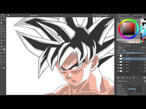 Dragon Ball Super - Son Goku Limit Breaker - Speed Drawing