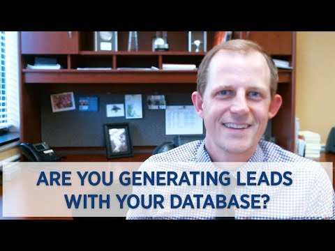 Stafford & Fredericksburg Real Estate Agent: Are You Generating Leads With Your Database?