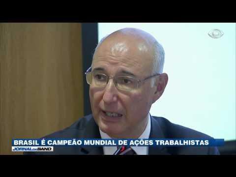 Brasil é campeão mundial de ações trabalhistas