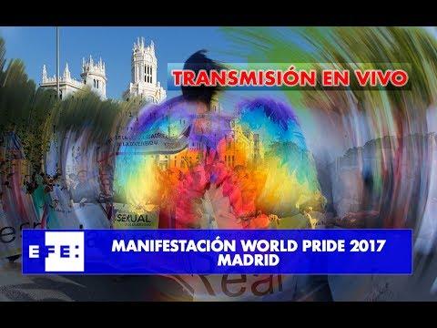 Manifestación Word Pride 2017 Madrid