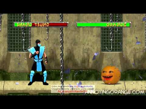 107 - Laranja Irritante vs. Mortal Kombat (upload original) Vídeos De Viagens