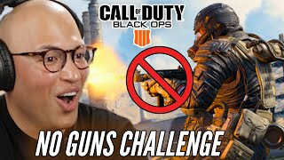 Marine Plays Call of Duty: Black Ops 4 Without Guns • Professionals Play