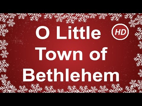 O Little Town of Bethlehem with  Lyrics | Best Christmas Carols & Songs | Children Love to Sing