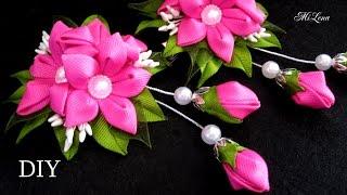 Prendedor para Cabelo com lindas flores