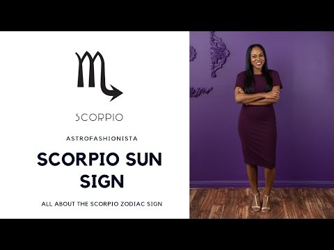 ALL ABOUT SCORPIO ZODIAC SIGN