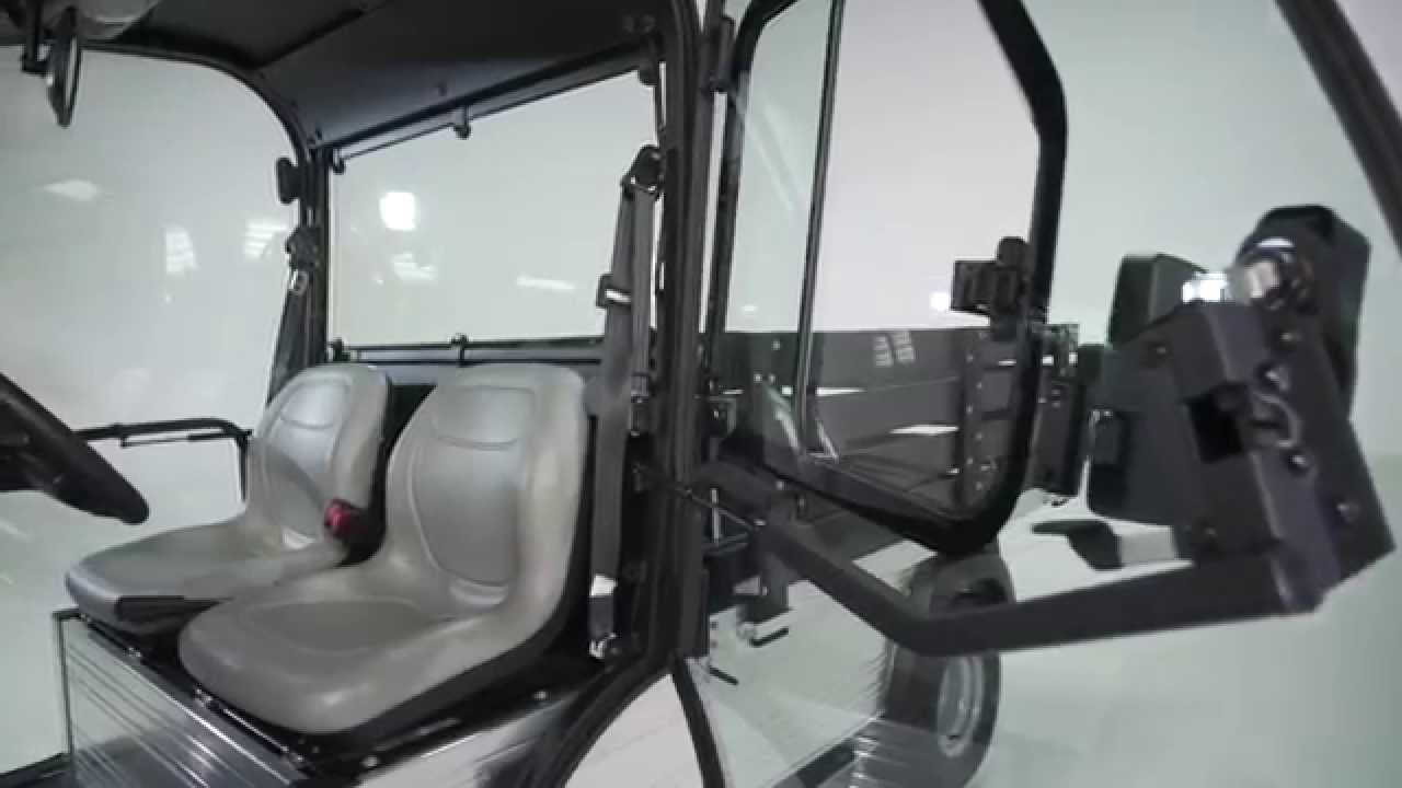 Club Car Introduces Upgraded Cab for Two-wheel Drive