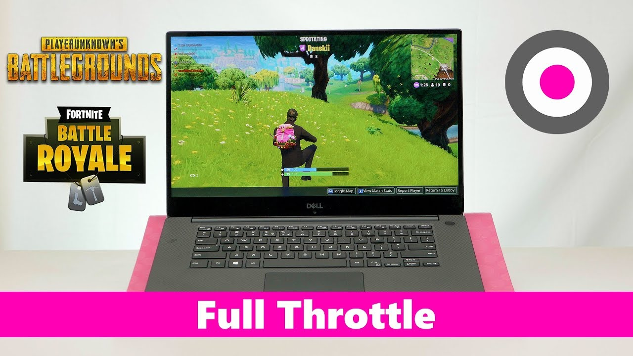Dell XPS 15 9570 Gaming Review - i9 GTX 1050 Ti 2018 Coffee lake - The best  gaming 15