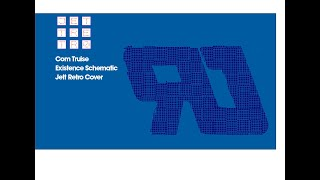 Com Truise - Existence Schematic (ЯJ  Jett Retro Cover 2019)