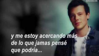 Glee - Can`t fight this feeling (Sub. espanol)