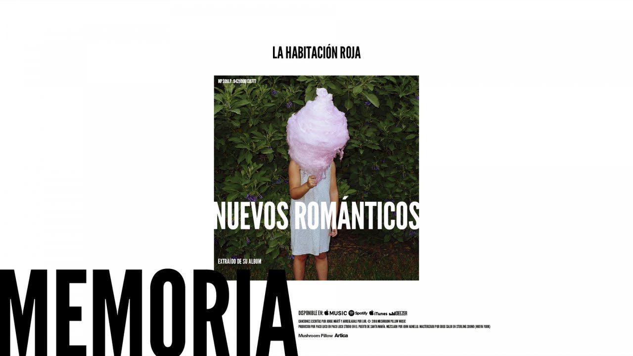 la-habitacion-roja-nuevos-romanticos-audio-oficial-mushroom-pillow