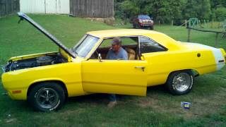 1973 Plymouth Valiant.. dads handbuilt ride