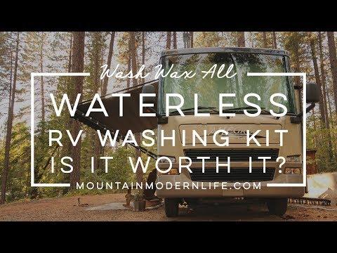 Wash Wax All Waterless RV Washing Kit Is It Worth It?