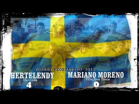 TORNEO FEDERATIVO 2018  Hertelendy (4)  -  Mariano Moreno Villa Dos Trece  (0)