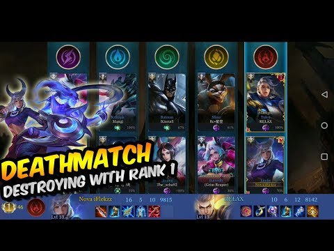 *NEW* GAMEMODE DEATHMATCH WITH #1 PLAYER IN EU | LINDIS OP?! | Arena of Valor