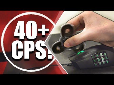 Fidget Spinner Click Speed Test