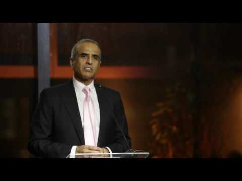 ICC Chairman Sunil Bharti Mittal at ICC World Council dinner