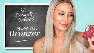 BRONZER RICHTIG AUFTRAGEN - H๐w to Bronzer mit Benefit, Too Faced & Co I Douglas Beauty School