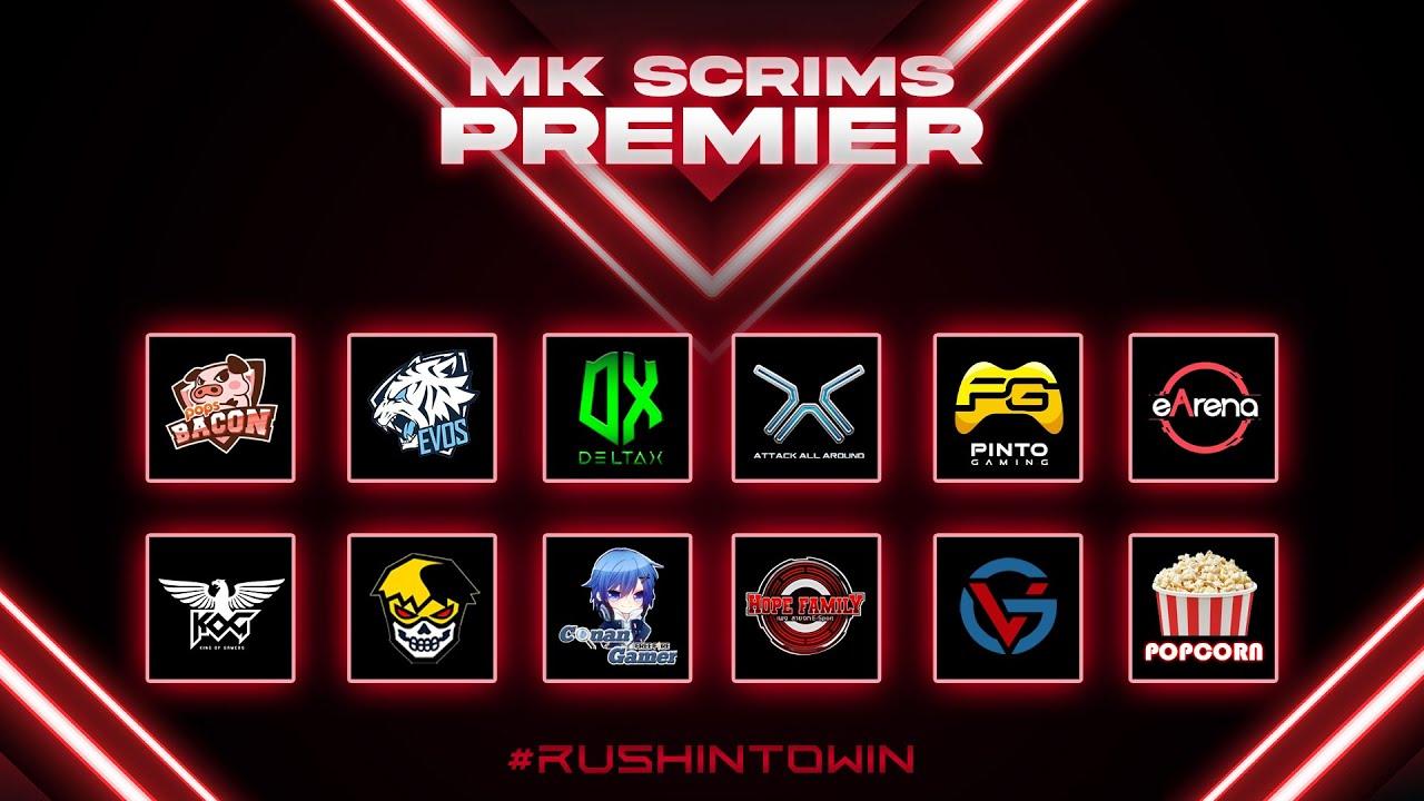 Free Fire : MK PREMEIR SCRIMS DAY2 WEEK3 ห้องซ้อม No.1 ประเทศไทย