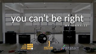 Repeat youtube video Mayonnaise - You Can't Be Right (Official Music Video)
