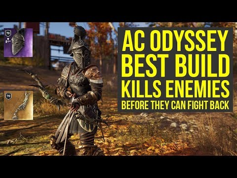 Assassin's Creed Odyssey Best Build Will Make Enemies Unable To Fight Back (AC Odyssey best build) thumbnail