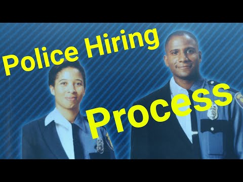 Navigating The POLICE Hiring Process