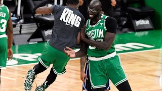 Tacko Fall Splash Off the Glass! Celtics Blowout Magic! 2020-21 NBA Season