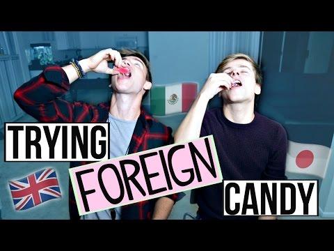 Trying British Candy! w/ Luke Korns