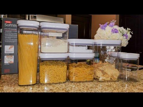 Organize your Kitchen: Dry Food Storage | TheDIYLady