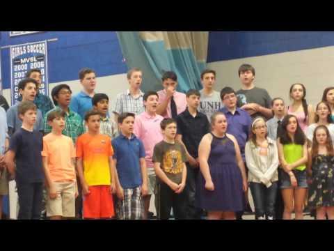 Rundlett middle school spring concert