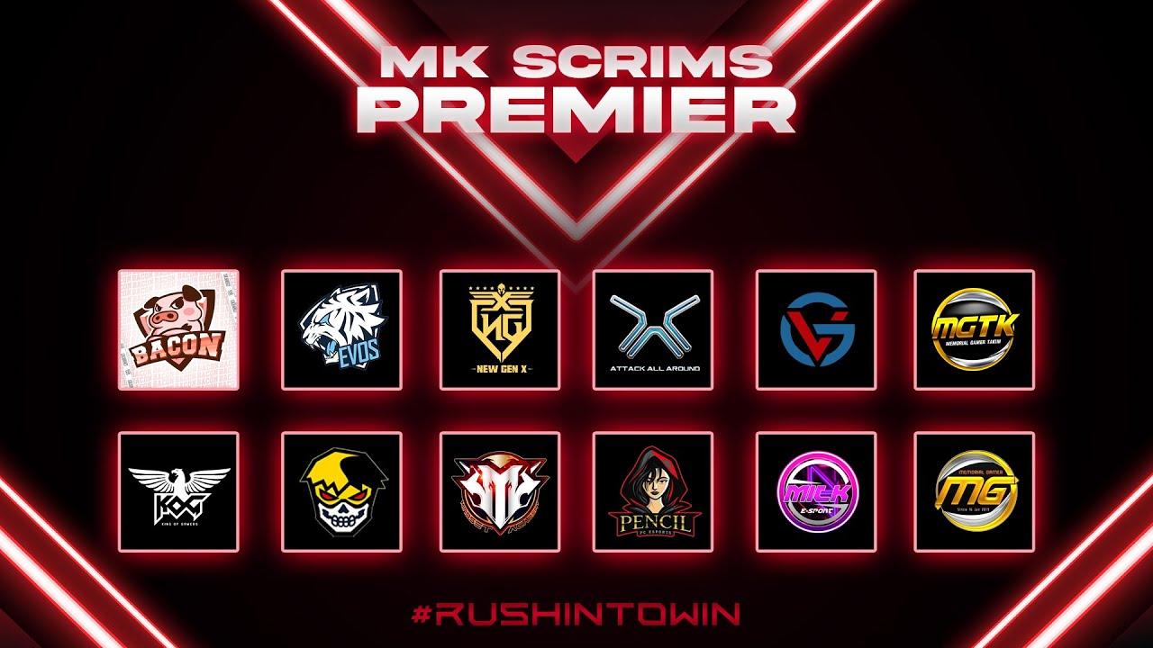 Free Fire : MK PREMEIR SCRIMS DAY5 WEEK8 ห้องซ้อม No.1 ประเทศไทย