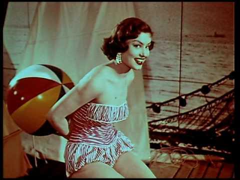 """Werbe-Rolle aus den 1950er-Jahren """"Rendezvous unterm Nierentisch"""", von Peter Goedel produziert"""