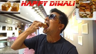 Diwali Special Mithai to Buy! Indian Food Taste Test S2EP1
