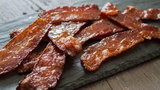 How To Make Maple Candied Bacon- 4 Mins Or Less Recipe