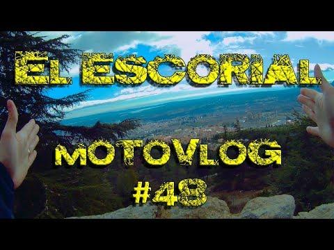 Visita a El Escorial, desde el Monte Avantos. Motovlog 48.