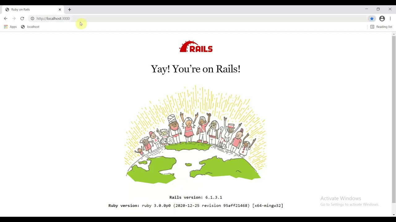 Ruby on Rails Tutorial - Getting started with basics - Routing and Rendering in Rails