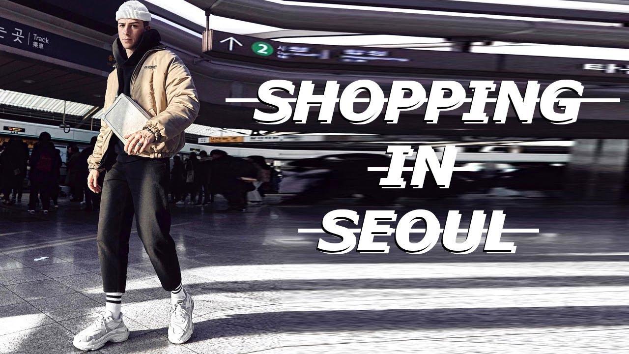 85e3be4e5823 SHOPPING IN SEOUL 🇰🇷 SOUTH KOREA!