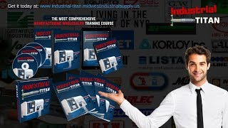 Affiliate Program & Training Course for Manufacturing Wholesalers