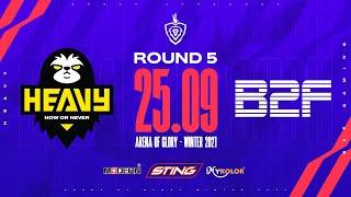 HEAVY vs B2F GAMING   HEV vs B2F - Vòng 5 ĐTDV mùa Đông 2021 screenshot 2