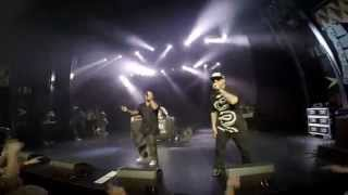 Xzibit, Cypress Hill - On Stage with Get Your Walk On, Copenhagen 2014