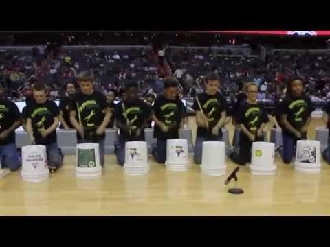 Rhythm Club (Spring Ridge Middle School) Wizards vs. Toronto Raptors Halftime