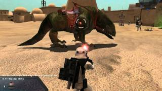 Star Wars Battlefront II: Mos Eisley Spaceport (Special Battles) #4 (Part 1 of 3)