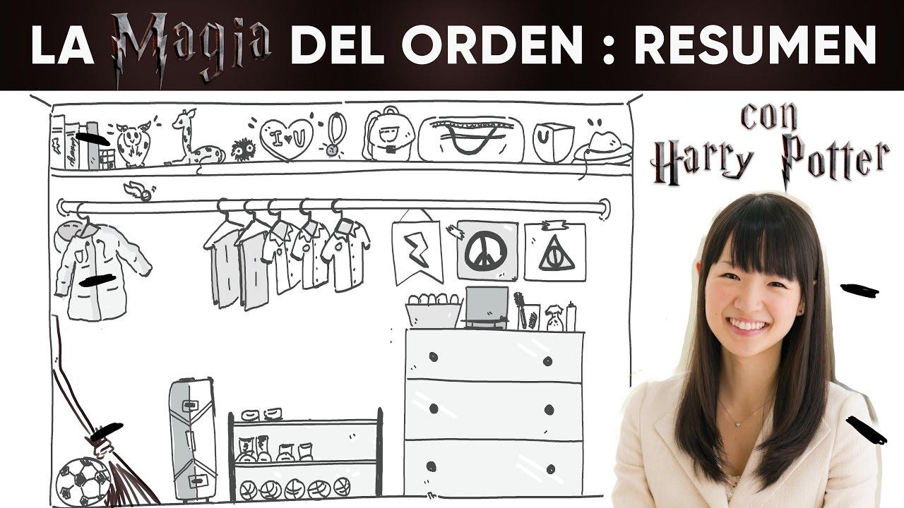 La magia del orden resumen con harry potter youtube for La magia del orden