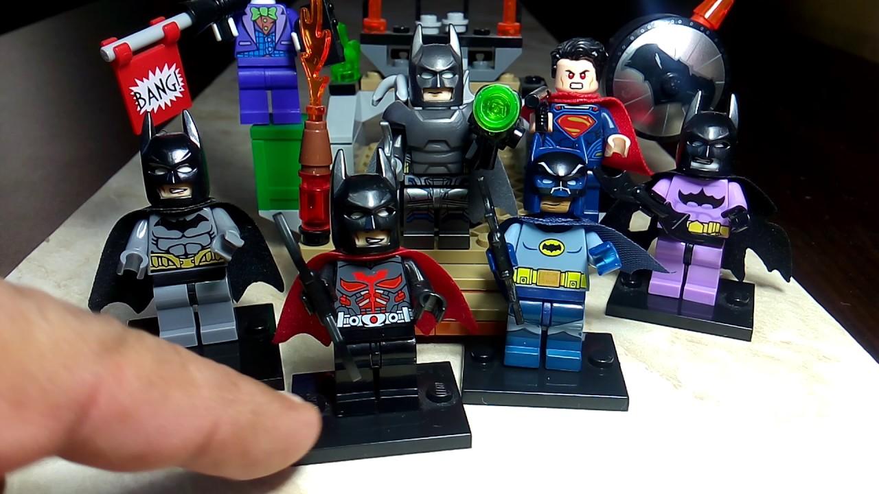 ✅Minifigures de lego batman ASILO ARKAN vs 2016 coleccion de ...