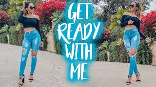 GET READY WITH ME | CHILL WEEKEND
