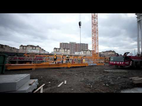 Tower Crane Erection KNF 355i KNF Canada and Total Crane Tower Cranes For Sale