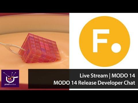 Live Stream   MODO 14 Developer Chat