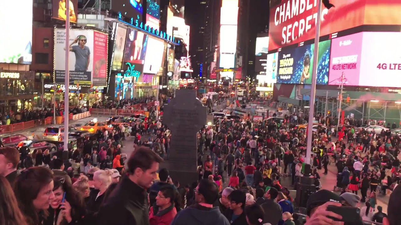 Halloween In Time Square