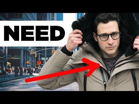 Men's Winter Fashion | 6 MUST-HAVE STYLES